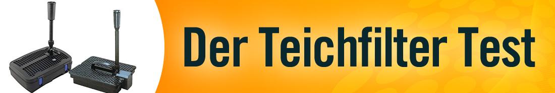 Teichfilter Test ++ Testsieger ++ Top 5 Bestseller